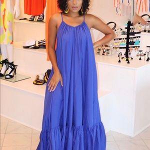 Dresses - Beautiful royal blue maxi dress